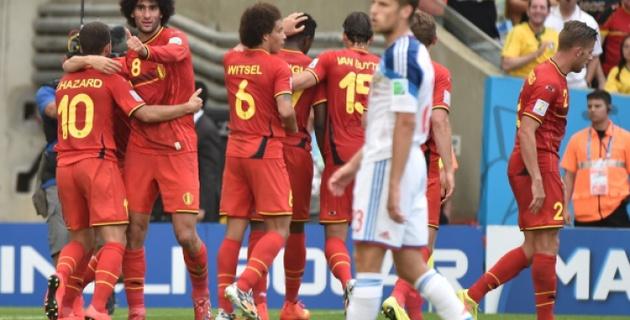 Сборная России проиграла Бельгии на ЧМ по футболу