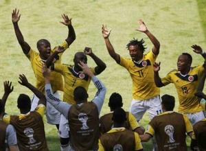 Сборная Колумбии одержала третью победу на ЧМ-2014 по футболу