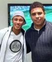 Роналдо назвал Неймара лучшим игроком ЧМ-2014