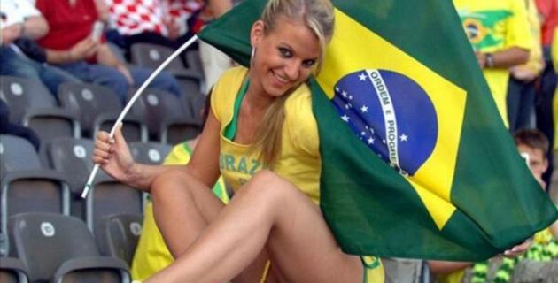Самые красивые болельщицы ЧМ-2014 по футболу. Бразилия