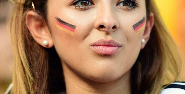Самые красивые болельщицы ЧМ-2014 по футболу. Германия