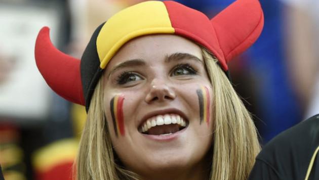 Фанатку сборной Бельгии после удачных фото на ЧМ в Бразилии пригласили стать моделью