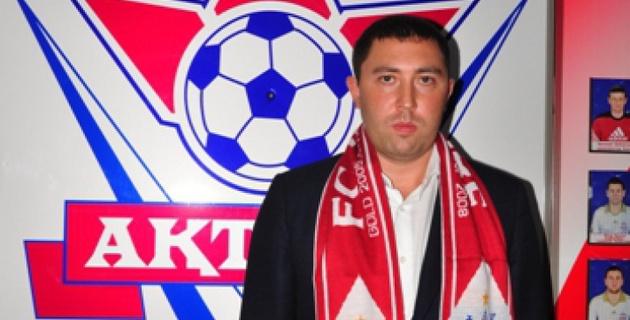 """Губернатор и мой отец состоят в теплых отношениях - Газзаев после назначения в """"Актобе"""""""