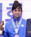 """Казахстанская таэквондистка выиграла """"серебро"""" на турнире Korea Open"""