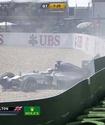 Льюис Хэмилтон попал в аварию на квалификации Гран-при Германии