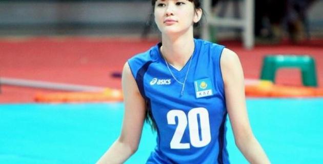 Казахстанская волейболистка стала звездой китайского интернета
