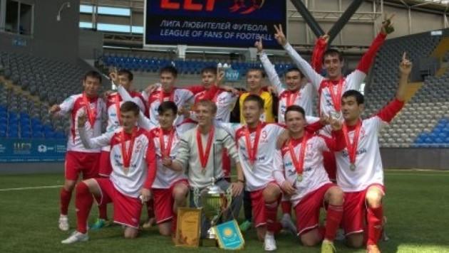 Команда Международного аэропорта Алматы выиграла чемпионат Казахстана по мини-футболу