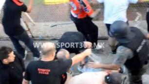 Македонскому болельщику оторвало руку взрывом гранаты во время матча