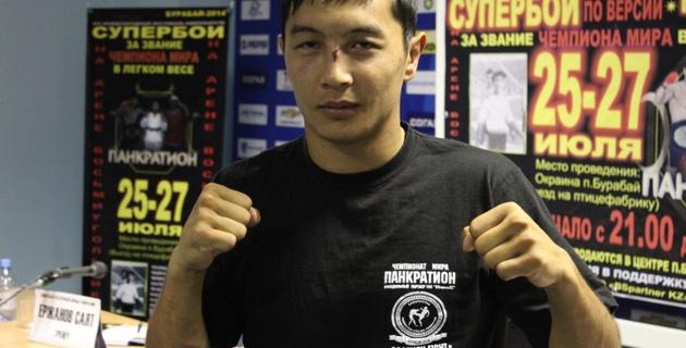 Казахстанец Досмагамбетов вызовет на поединок чемпиона UFC
