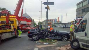 Бывший одноклубник Шмидтгаля попал в больницу после ДТП
