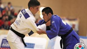 Казахстанский дзюдоист Жауынтаев вышел в финал юношеских Олимпийских игр в Нанкине