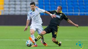 """Футболист """"Астаны"""" - один из лучших распасовщиков сезона в Лиге Европы"""