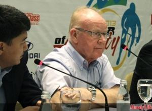 "Подготовка к велогонке ""Тур Алматы"" идет по плану - комиссар UCI Джек Ватсон"