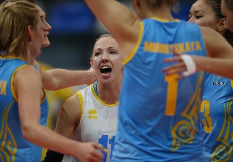 Женская сборная казахстана по