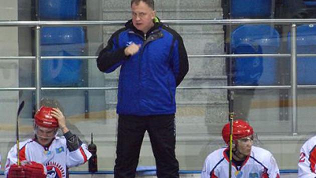 """ХК """"Арлан"""" отправил в отставку главного тренера"""