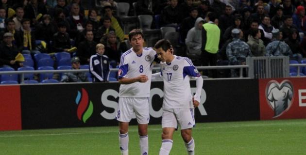 Сборная Казахстана поднялась на четыре позиции в рейтинге ФИФА