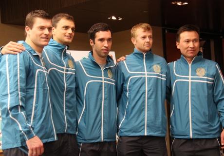 Казахстан может провести матчи Кубка Дэвиса против Италии в Алматы