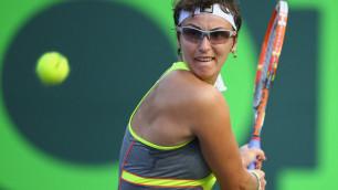 Женская сборная Казахстана по теннису вышла в четвертьфинал Азиатских игр