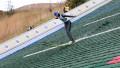 Казахстанец Соколенко стал 20-м в первый день этапа Гран-при по прыжкам с трамплина в Алматы