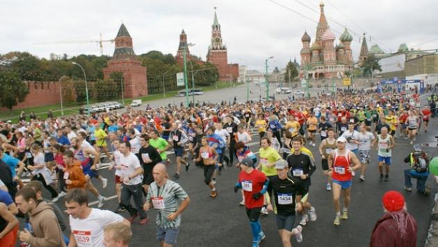 Бегунья из Казахстана выиграла Московский марафон