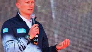 """Наша команда проехала """"Тур Алматы"""" на пять с плюсом - Александр Винокуров"""
