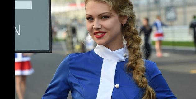 """Самые красивые девушки Гран-при """"Формулы-1"""" в Сочи"""