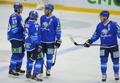 """""""Барыс"""" поднялся на четвертое место в Восточной конференции КХЛ"""