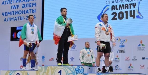 Иранский тяжелоатлет Ростами стал двукратным чемпионом мира
