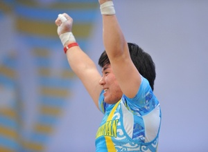 Казахстанка Жаппаркул завоевала серебряную медаль чемпионата мира в Алматы