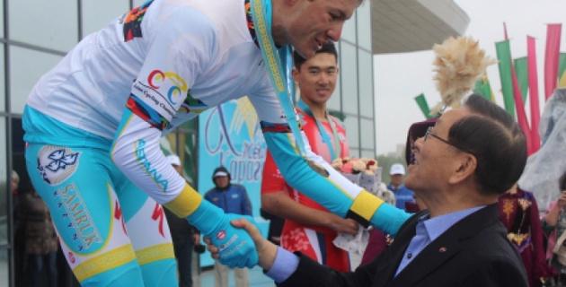 Еще один казахстанский велогонщик попался на допинге