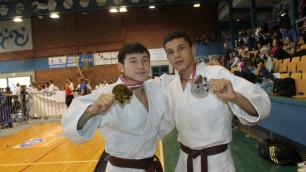 Казахстанские дзюдоисты завоевали три золотых медали на Кубке Европы