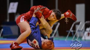 Казахстанка Гаухар Турмаханова стала чемпионкой мира по самбо