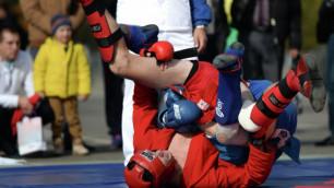 Сулейменов из Казахстана стал чемпионом мира по боевому самбо