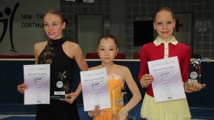 Казахстанская фигуристка Турсынбаева выиграла турнир в Германии