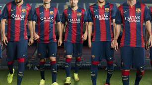 """Форма """"Барселоны"""" в новом сезоне получит горизонтальные полосы"""
