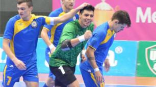 Сборная Казахстана стала обладателем Tashkent Cup-2014
