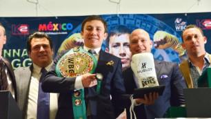 Бой с Альваресом стал бы подарком для всех поклонников бокса - Геннадий Головкин
