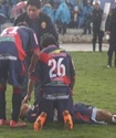 Перуанский футболист выжил после попадания молнии во время матча