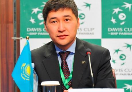 Вице-президент Федерации тенниса Казахстана Адиль Бурлибаев покинул свой пост