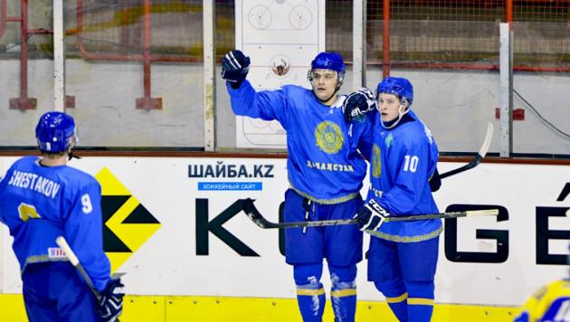 Казахстан стал досрочным победителем молодежного ЧМ по хоккею в своем дивизионе