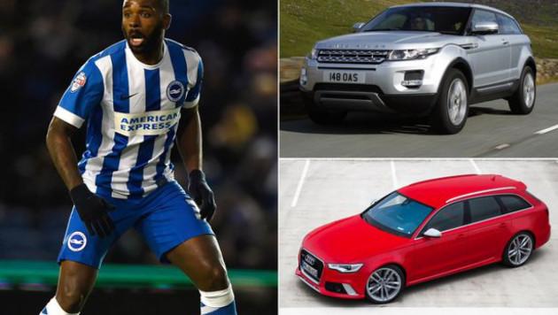 У английского футболиста угнали две машины на 150 тысяч фунтов