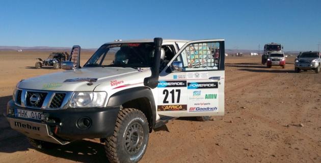 Казахстанский экипаж стал первым в серийном зачете внедорожников на 10-м этапе Africa Eco Race