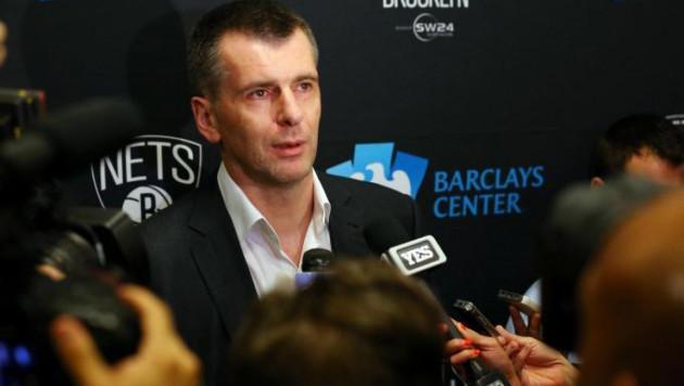 Прохоров выставил свой клуб НБА на продажу