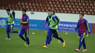 Абат Аймбетов сыграет в атаке в матче Казахстана и Таджикистана на Кубке Содружества-2015