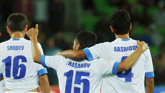Сборная Узбекистана по футболу вышла в плей-офф Кубка Азии