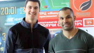 """Хоккеисты """"Барыса"""" в Сочи. Доус и Ландин прибыли для участия в Матче звезд КХЛ"""