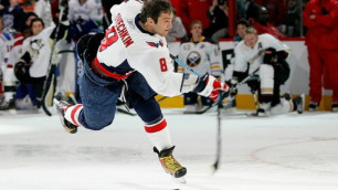 Овечкин проиграл в конкурсе на самый сильный бросок в рамках Матча звезд НХЛ