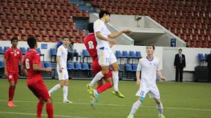 Казахстан выиграл заслуженно - тренер Таджикистана о матче Кубка Содружества