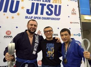 Казахстанские бойцы впервые стали чемпионами Европы по джиу-джитсу