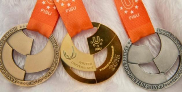 Казахстанская лыжница Слонова завоевала вторую золотую медаль на Универсиаде в Словакии